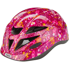 ABUS Hubble 1.1 Casco Bambino, purple flower